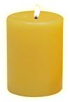Vela Amarilla Imagen